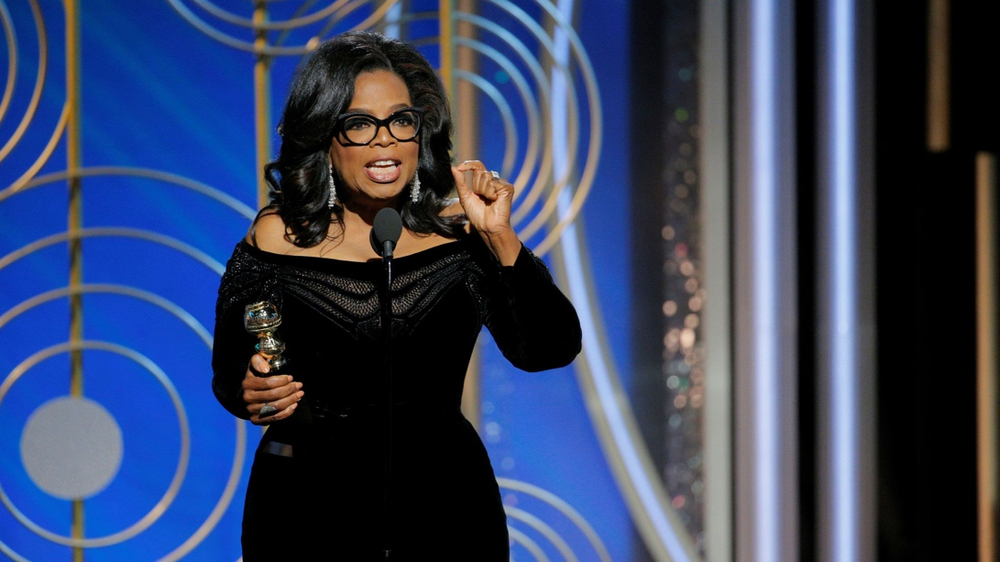 After Oprah's powerful speech at the Golden Globes this year, many stipulated that she might announce her candidacy.