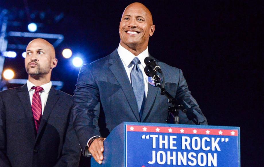 "An entertaining SNL skit featuring Dwayne ""The Rock"" Johnson and Keegan-Michael Key"