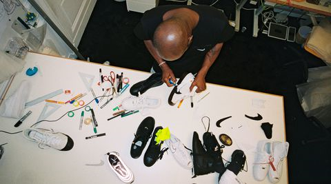 Abloh's hard work has been unprecedented, working on countless different projects, along with his own brand. (Courtesy of  NIKE )