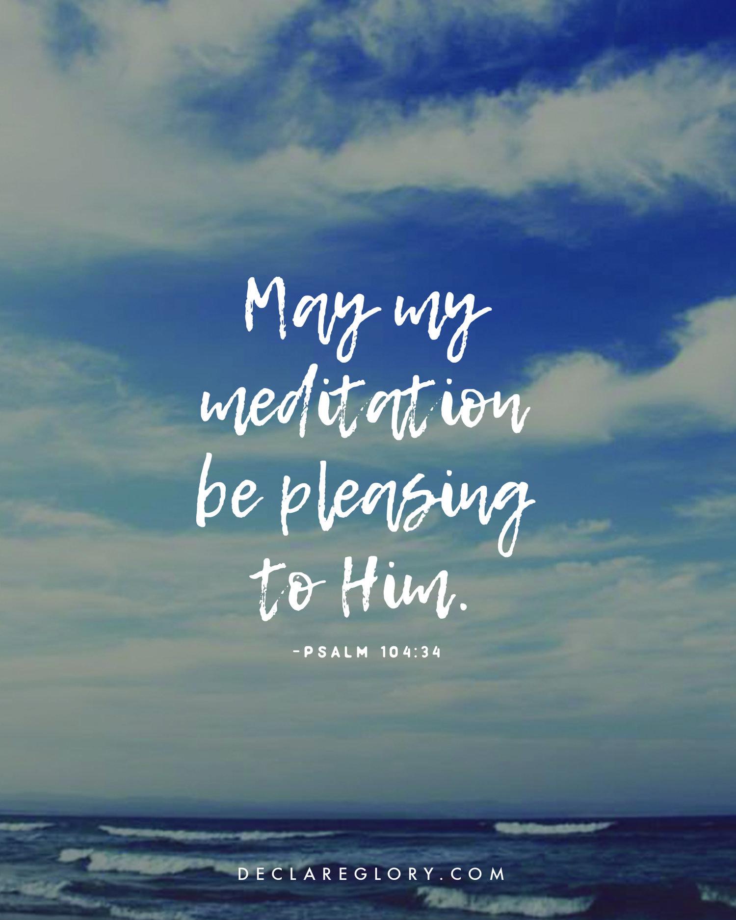 Day 39: Psalm 104:24-35 — Declare Glory