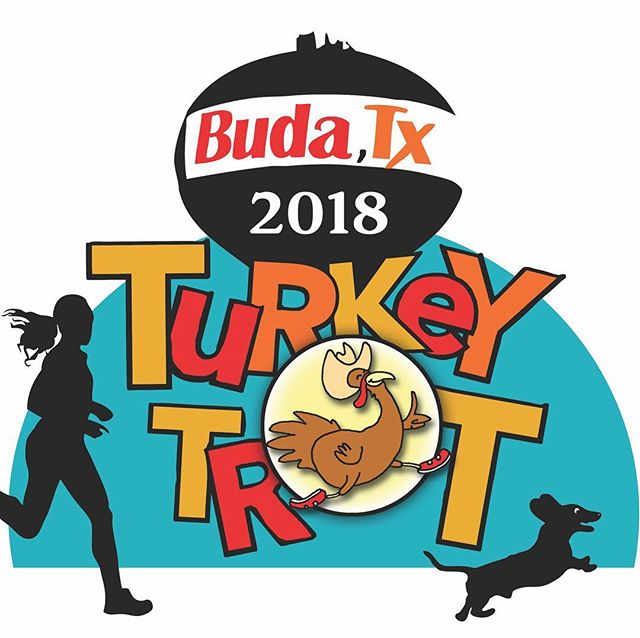 Still time to register tomorrow morning for second annual Buda Turkey Trot! Visit our tent after. #budaturkeytrot #Imthankfulforrunning #TeamInertia