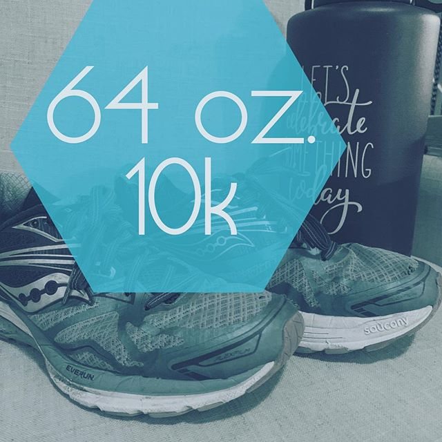 Your lucky numbers for 2019! #10ksteps #64ozaday These two simple things are a great place to start for energy, digestion, good skin and weight balance.