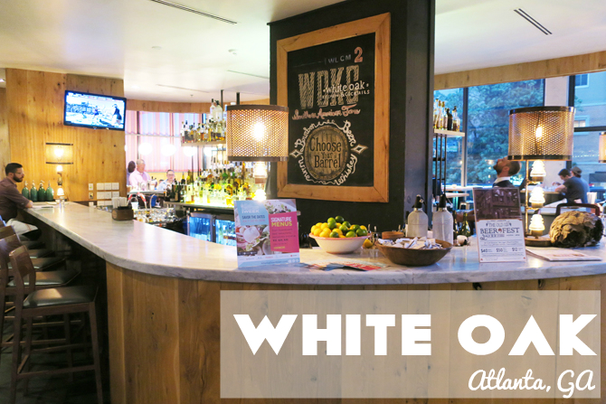 white oak kitchen atlanta