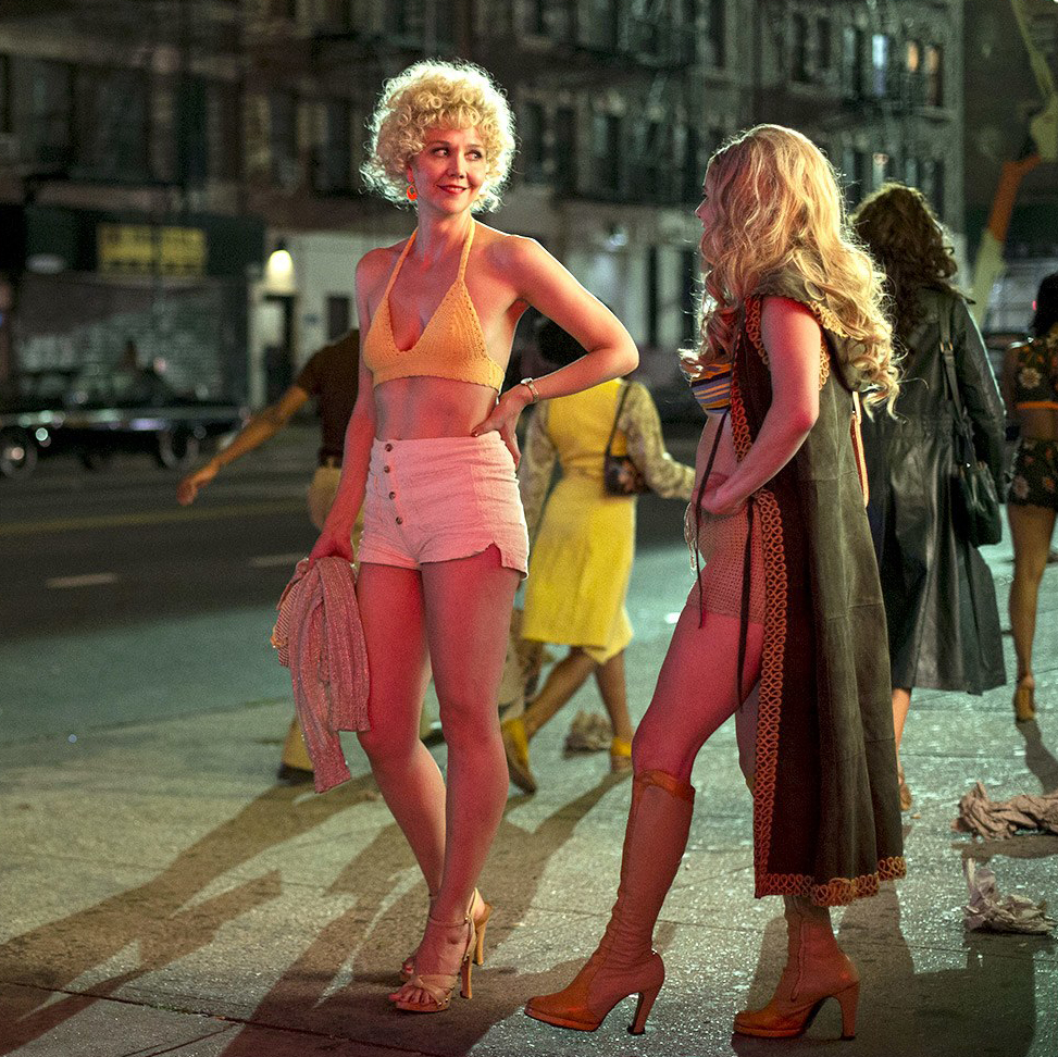 Maggie Gyllenhaal as Candy in  The Deuce .