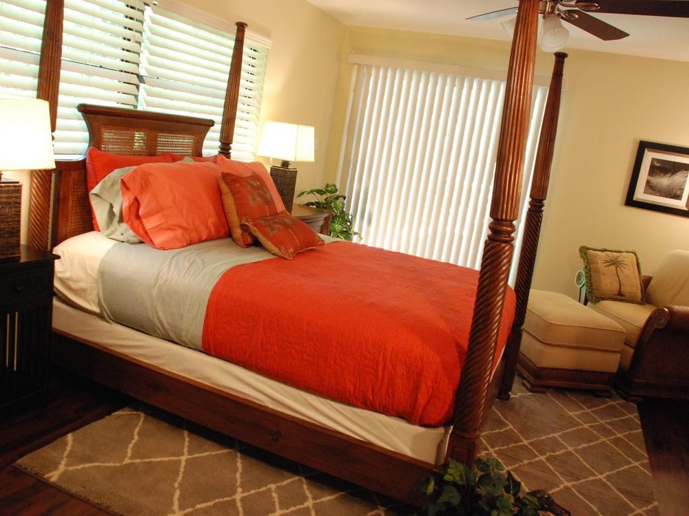 Our West Indies Suite: One of two river view sleeping rooms.