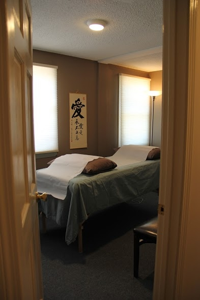 Treatment Room at MacLaren Transformative Acupuncture