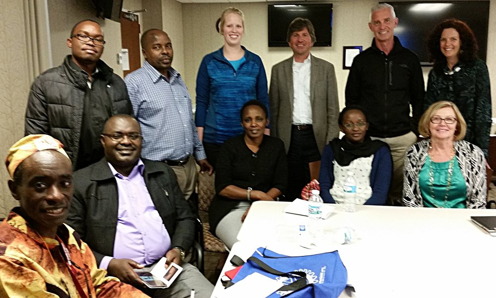 The Naivasha Training team visited Omaha in April 2016 as part of the HBB grant.