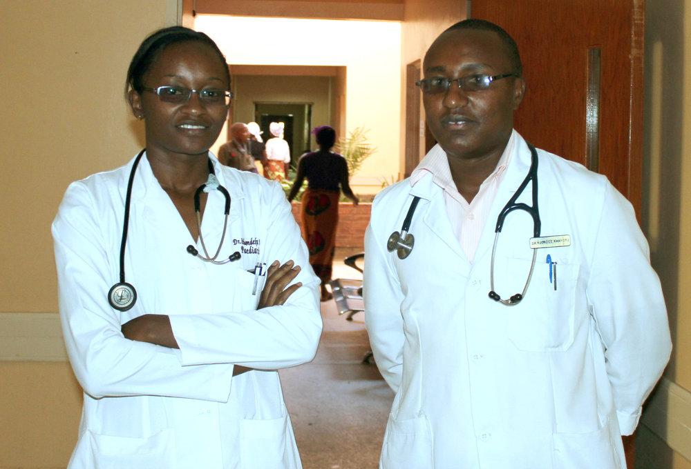 Dr. Ithondeka & Dr. Chege