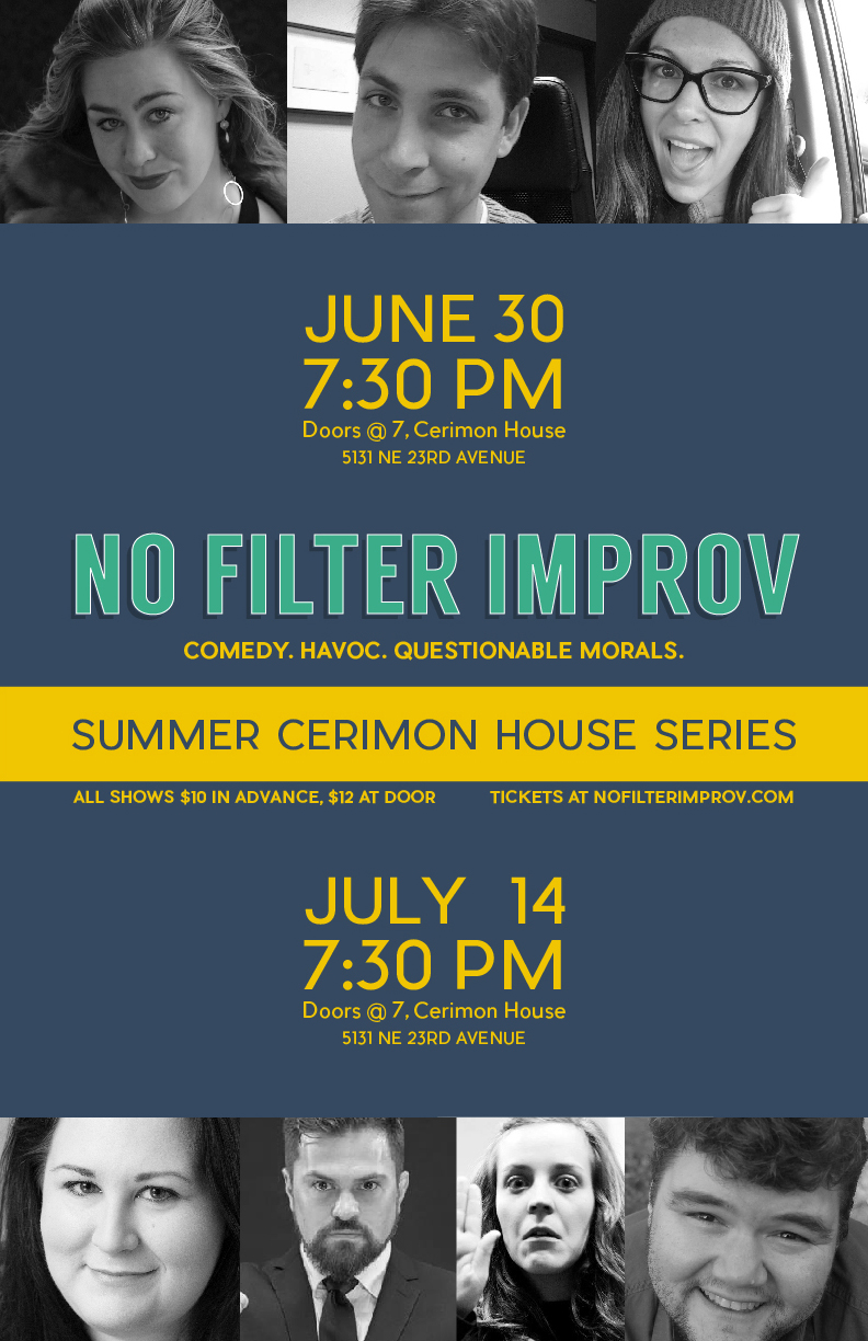 Cerimon House Summer Series Poster
