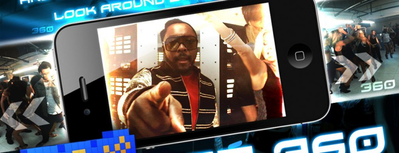 Every major music artist these days seems to have their own iPhone app, but the latest app from the Black Eyed Peas is like nothing you've ever seen before....