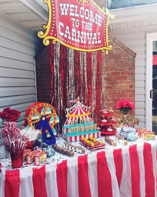 EverGlow Events, LLC✨ This was such a fun event! Carnival themed birthday pool party 🎉. • • • • • • • • • • • • • • • • • • • #evergloweventus #evergloweventsllc #events #eventplanner #eventplanning #carnival #circus #flowers #candy #desserttable #beautiful #balloons #corporateevents #specialevents #dcevents #eventsdc #mdevents #marylandevents #md #dc #va #dvmevents #corporateevents #wedding #specialevents #birthdayparty #luxury #business
