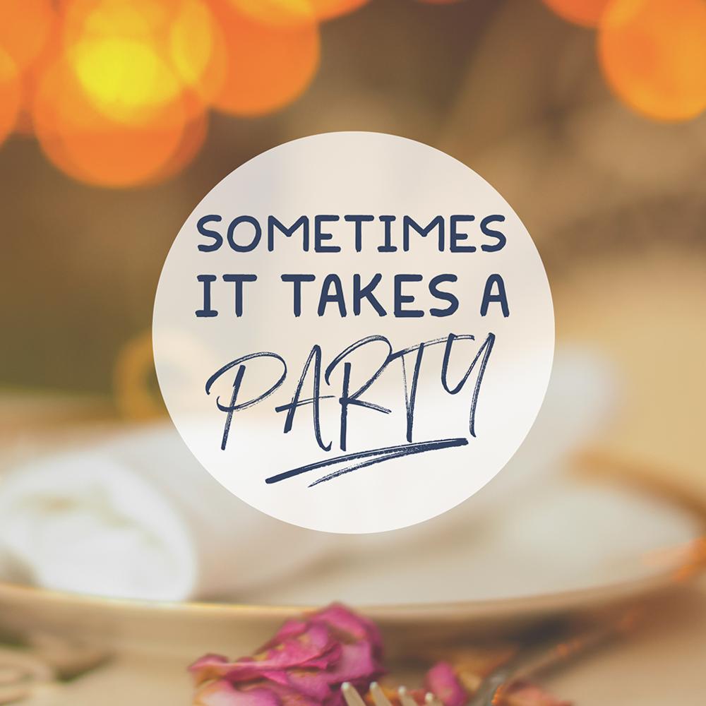 Sometimes It Takes A Party -
