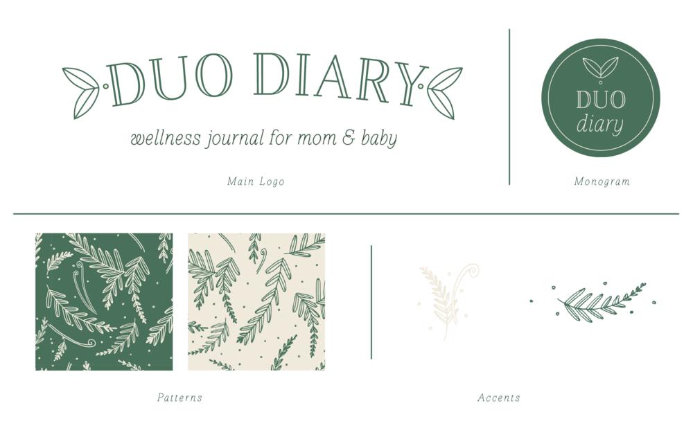 Duo Diary Web Branding