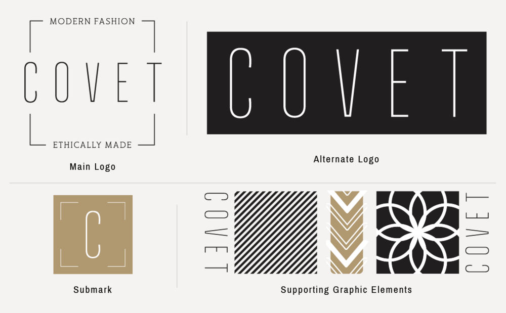 Covet Web Branding