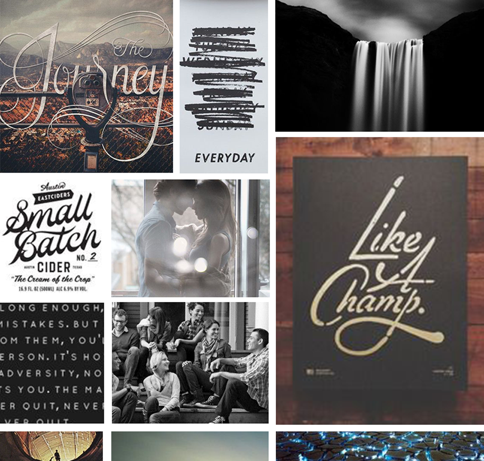 Client Mood Board: Rustic, Warm, and Inviting | Http://Nikkita.co