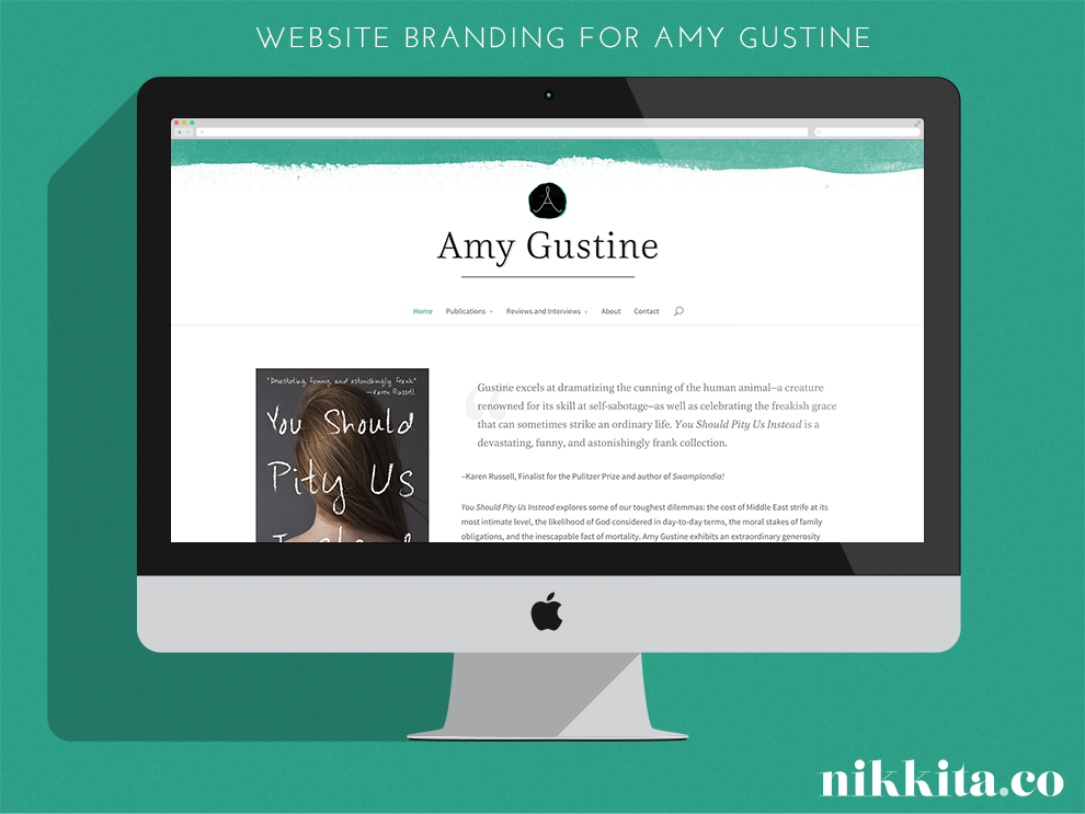 Nikkita.Co | Amy Gustine Website