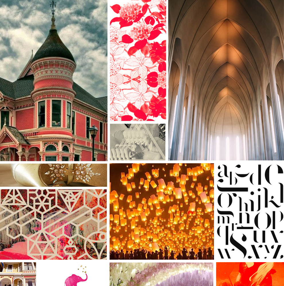 Inspiration Board: Spiritual, Warm, Open, Light