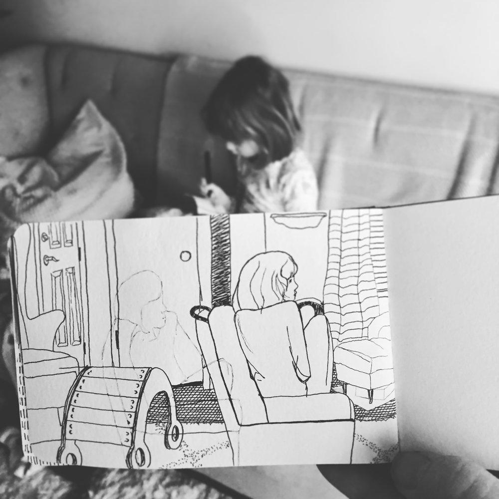 Life Drawing by Nikkita.Co | http://nikkita.co