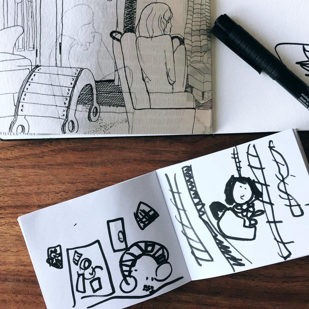 Drawings: 32 + 5 by nikkita.co | http://nikkita.co