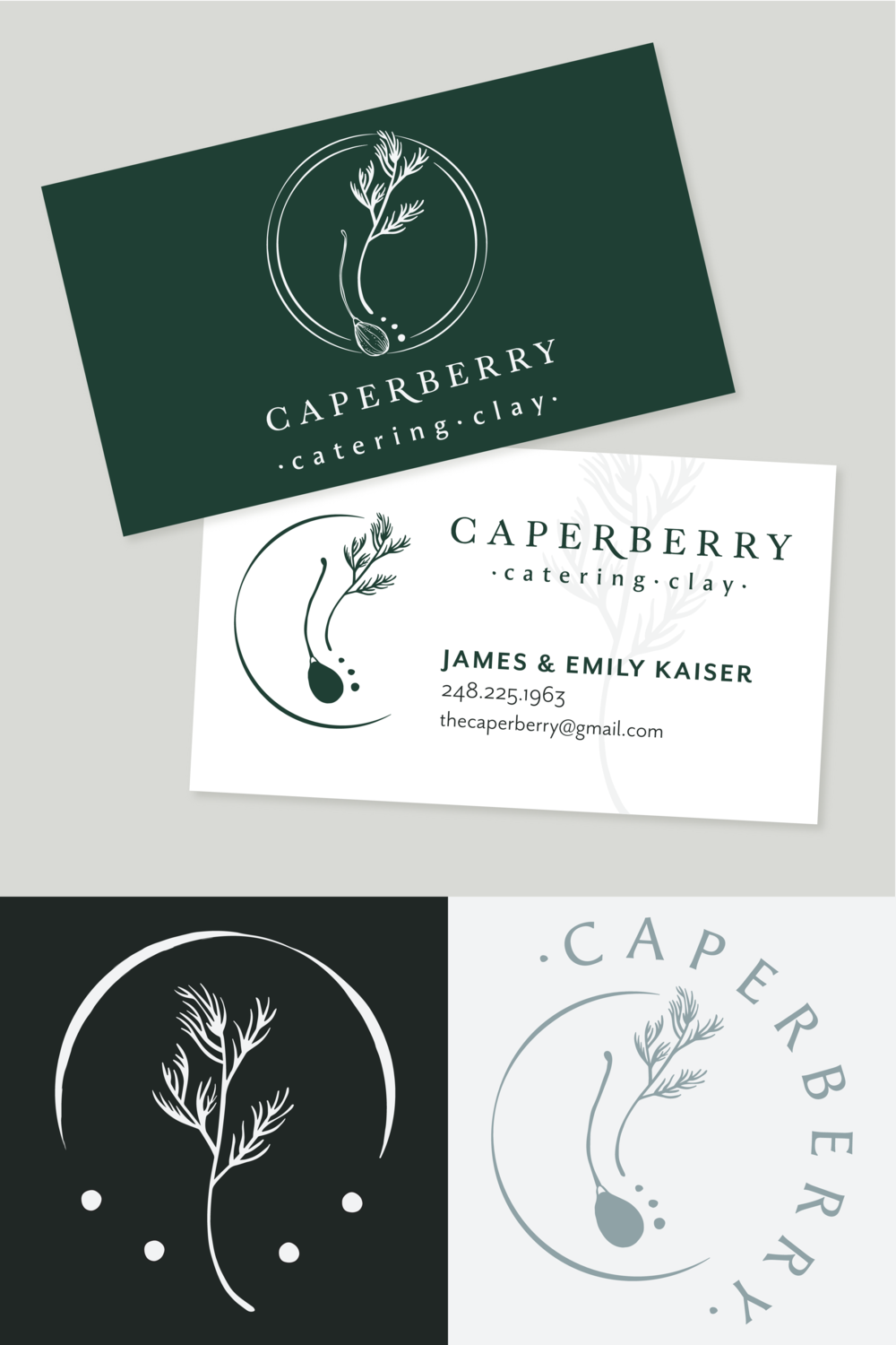 Rustic Hand Drawn Logo Design, Business Card, and Potter's Mark