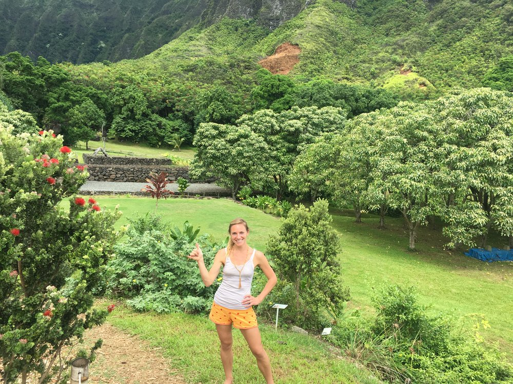 A morning well-spent getting down and dirty in traditional taro patches at Papahana Kuaola.