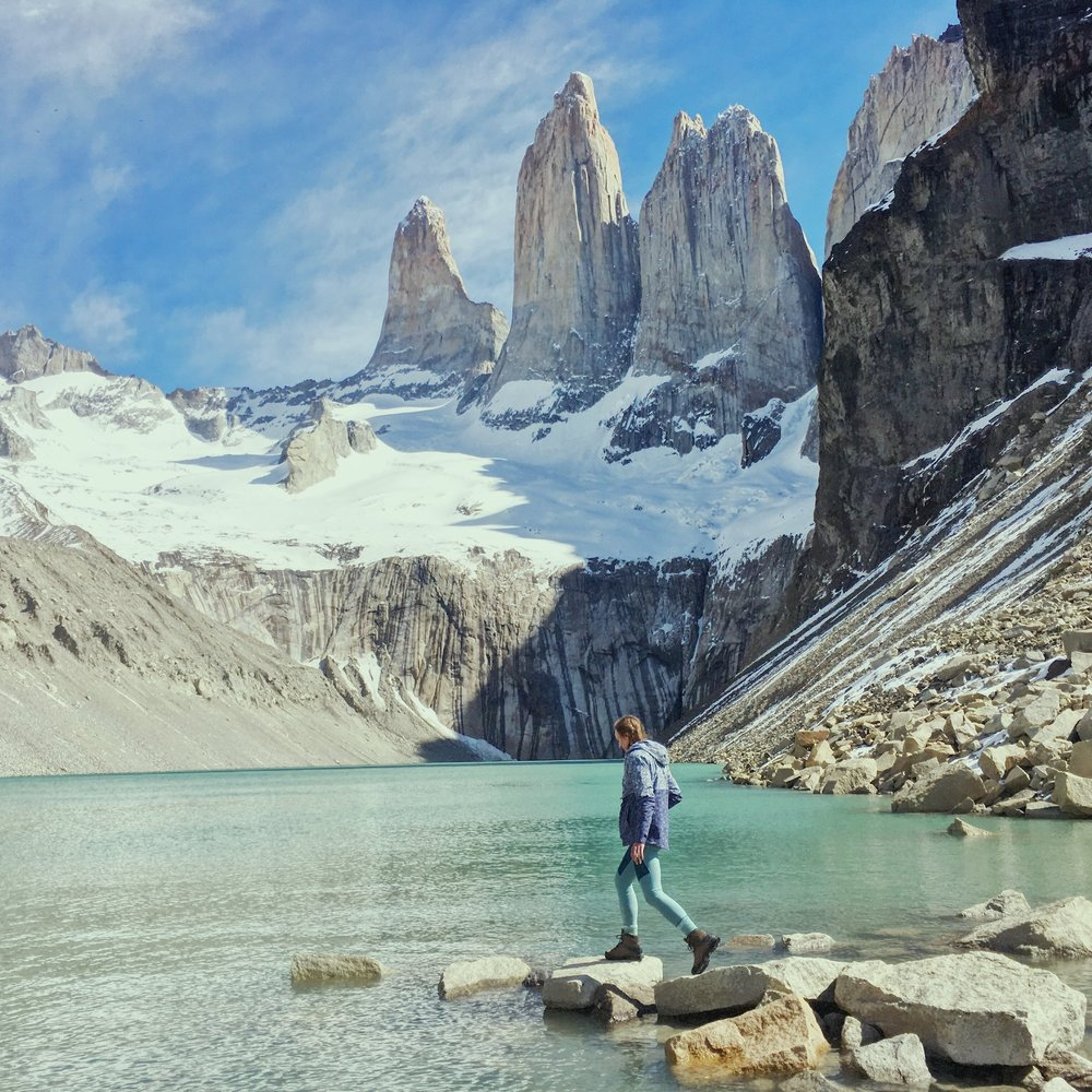 The hike to the base camp of Torres del Paine is an absolute bucket list experience.