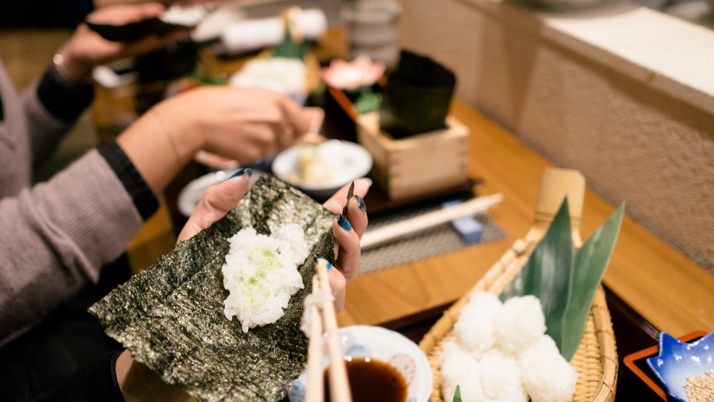Tokyo, Japan - Learn to roll sushi from masters in Tokyo. The best part? You get to sample your creations afterwards!