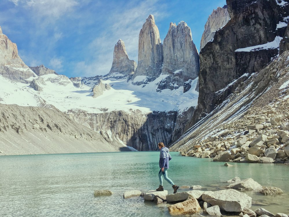 Patagonia, Chile - Hike the Base Camp trek in Torres del Paine National Park.