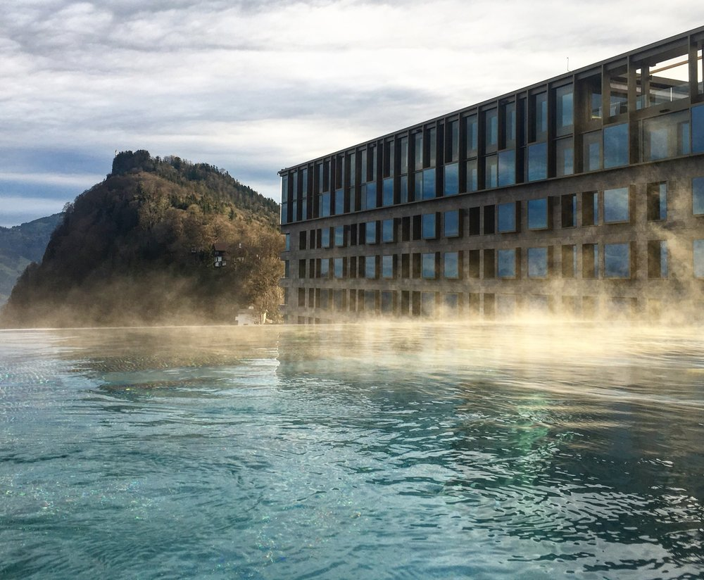 Infinity Pool at the Alpine Spa