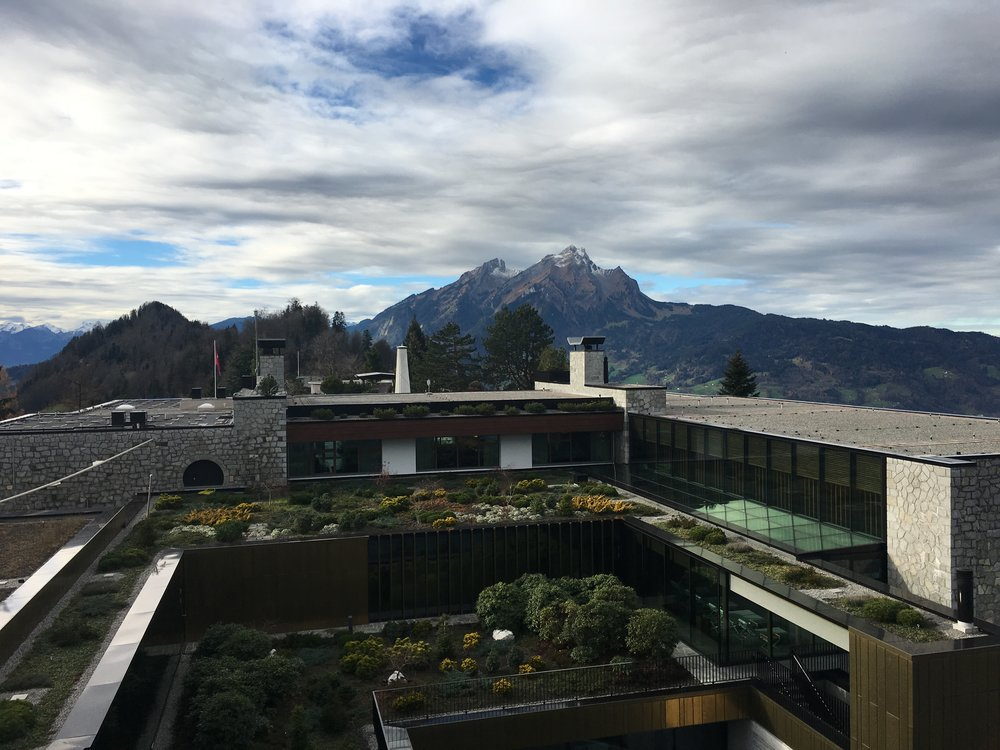 View of the Alpine Spa