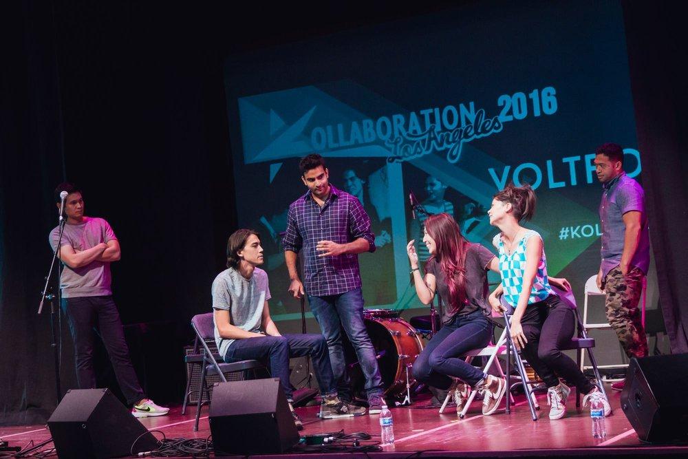 Voltron at Kollaboration LA