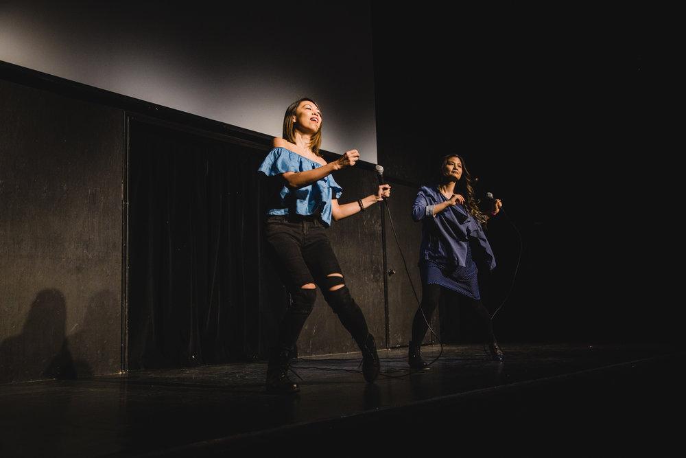 Tess Paras & Cynthia Kao