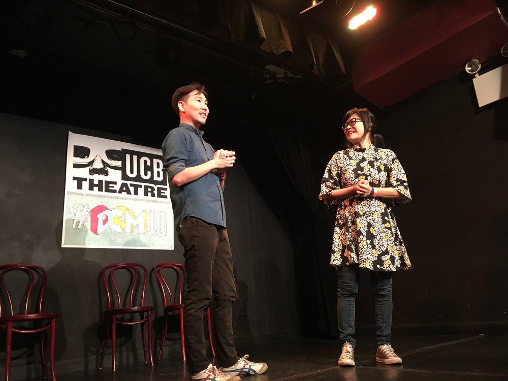 Will Choi & Keiko Agena