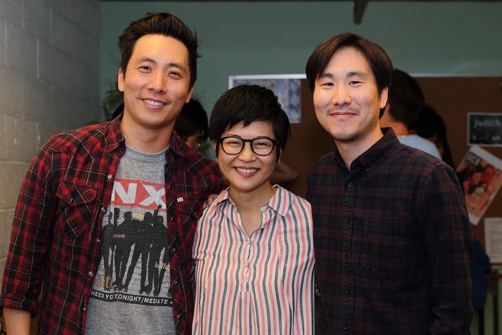 Kelvin Yu, Keiko Agena, Will Choi