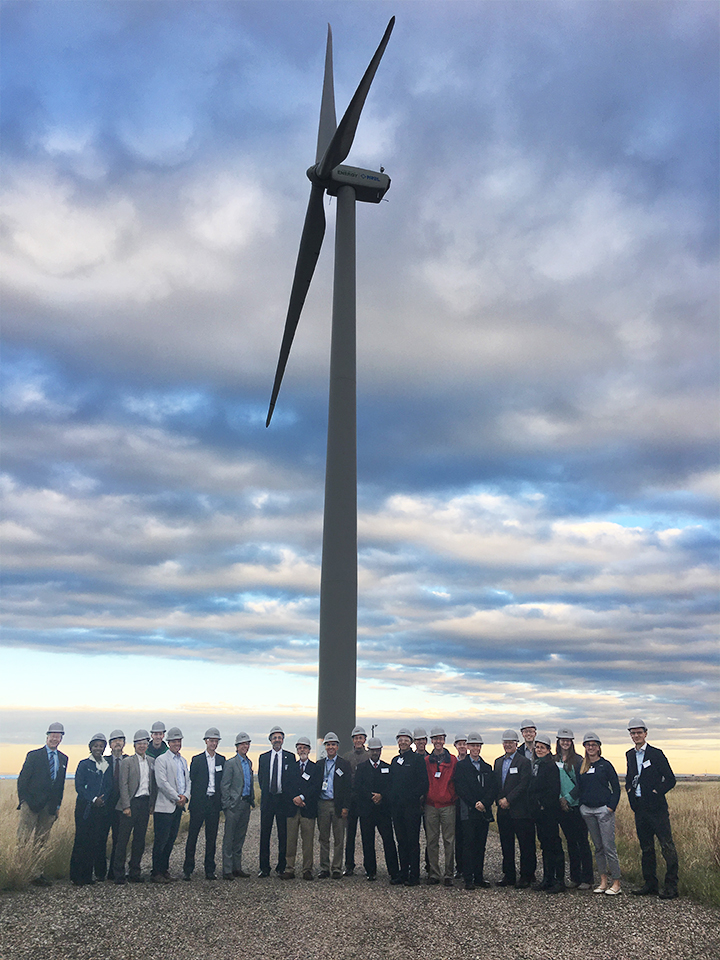 POWER-US team during NREL tour, Colorado.