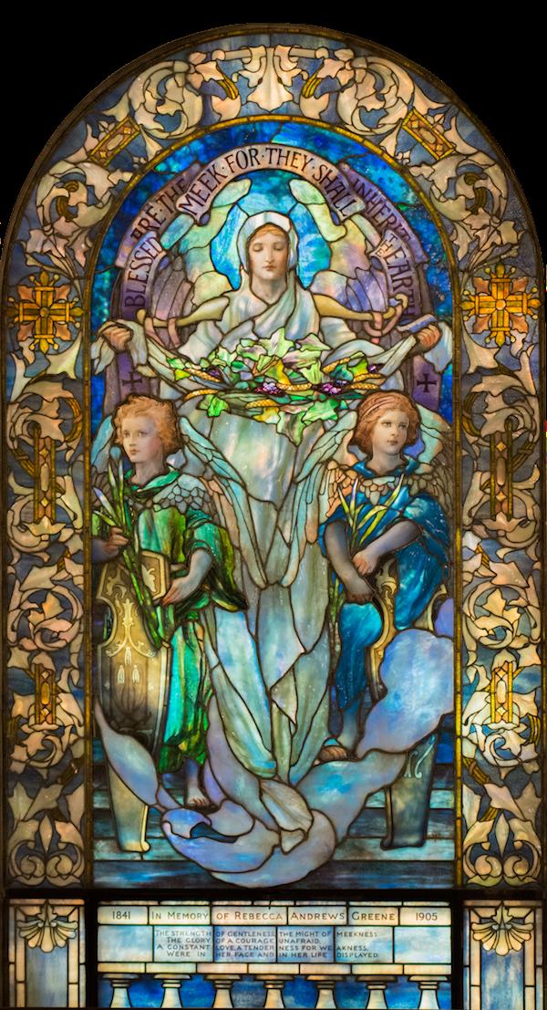 Window 15: Blessed Are the Meek, 1908  المباركة هي الودية