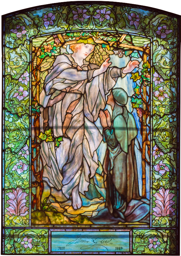 The Annunciation: Copyright 1900/Tiffany Decorating Company /New York