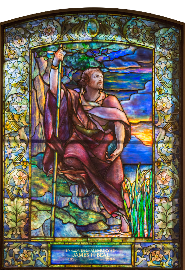John the Baptist:    Tiffany Studios/New York 1905
