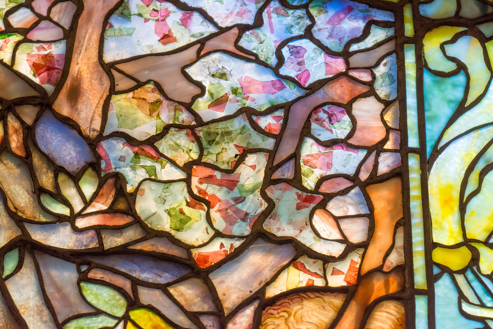 When He Became Interested In Stained Glass Tiffany Made A Trip To Europe Where Studied Records Left By The Great Medieval Artists