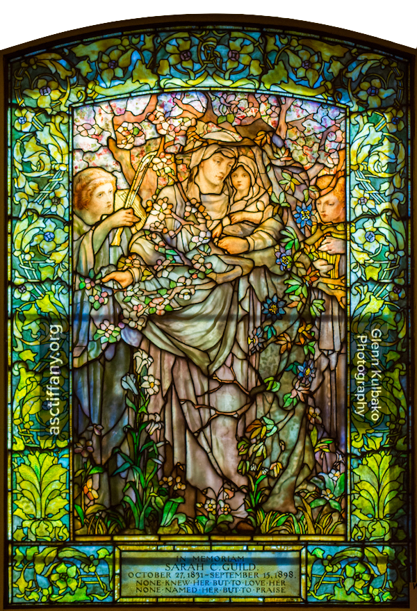 Madonna of the Flowers: 1899 Tiffany Glass and Decorating Company