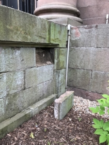 Foundation mortar issues