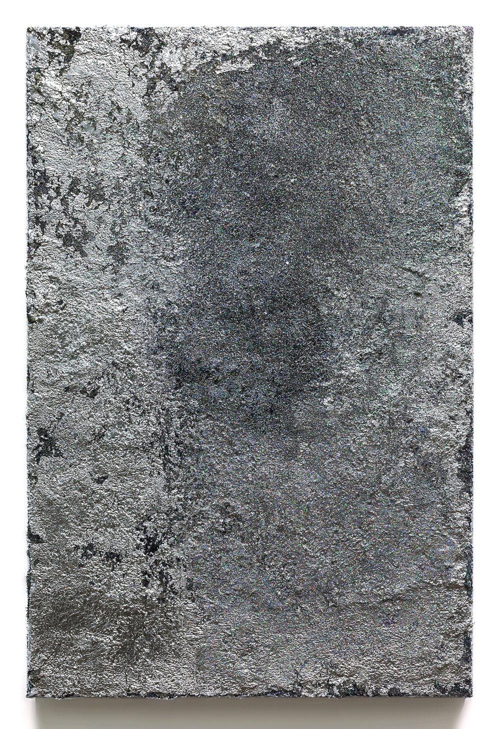 Rosalind Tallmadge  Artifact II  2017 Mixed media on canvas 26 x 18 inches