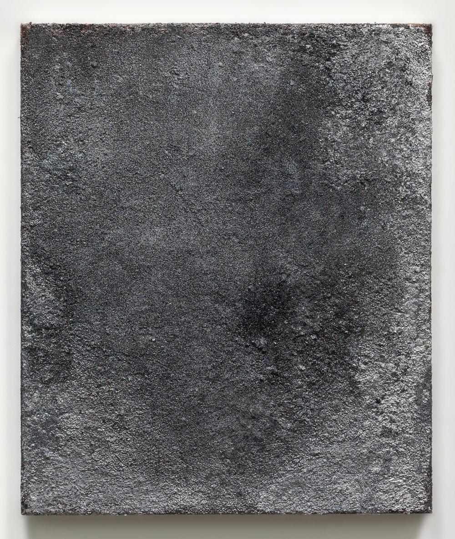 Rosalind Tallmadge  Artifact I  2017 Mixed media on canvas 24 x 20 inches