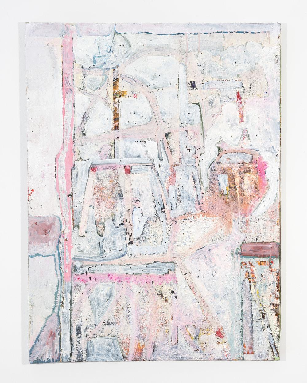 Steve DiBenedetto  Grudge  2015-19 Oil on linen 24 x 18 inches