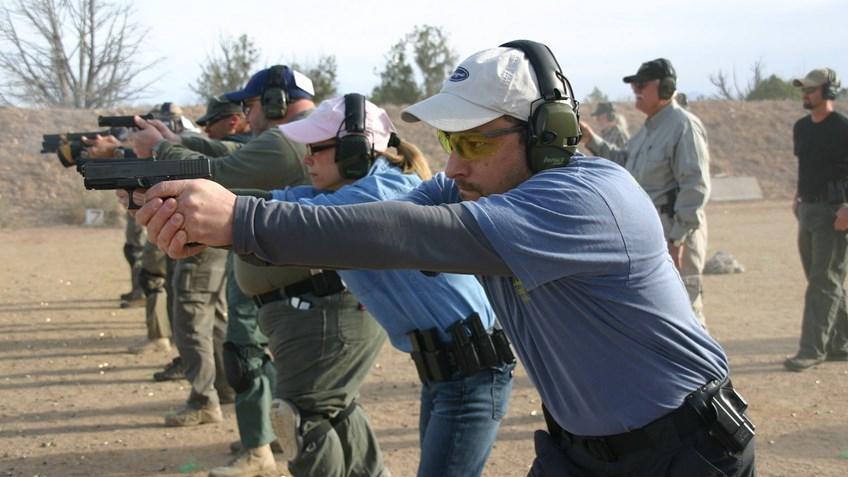 Pistol Shooting Positions: Weaver Vs  Isosceles — Green Ops