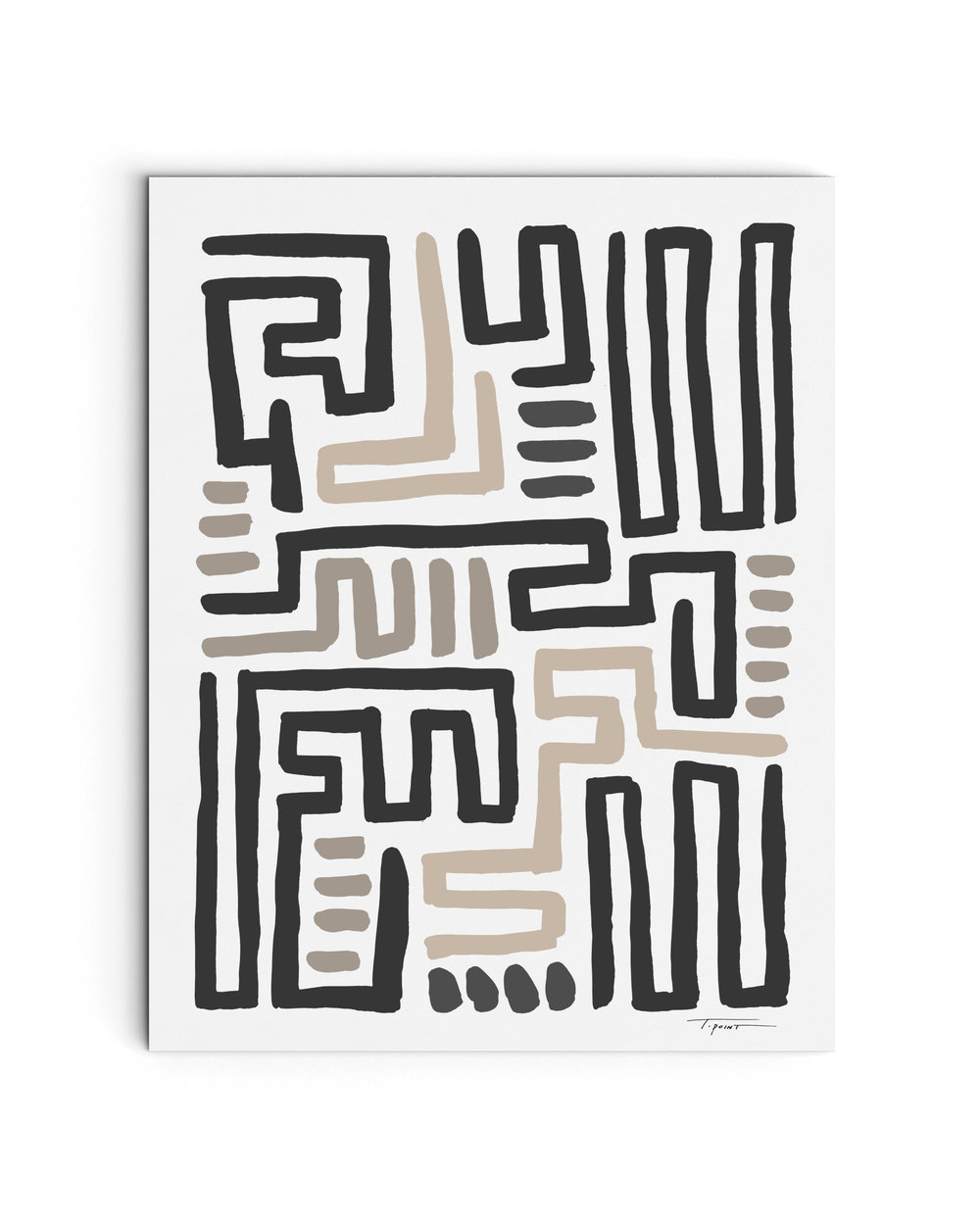 Drop Shadow Tribal Maze_Neutral Ink Print Mock-ups.jpg