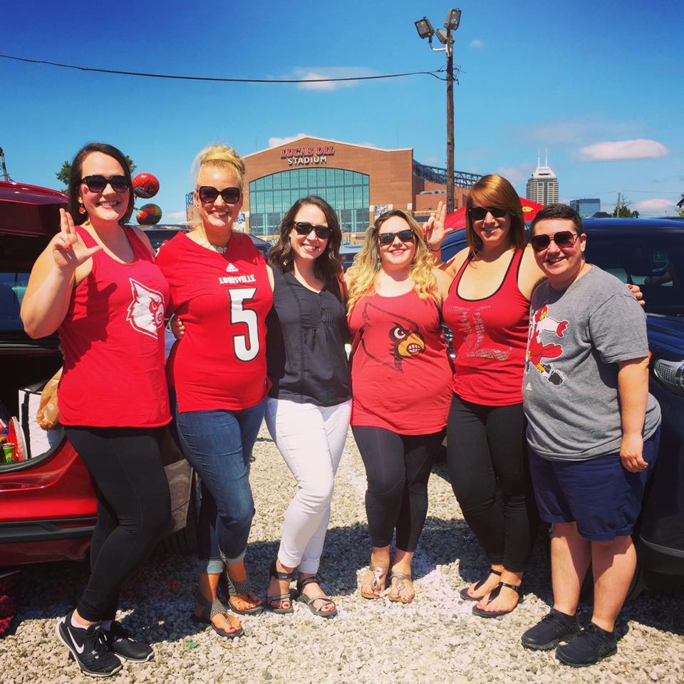 Louisville football vs. Purdue in 2017 -- There's nothing like a football road trip. (Follow us on Twitter:  @UofLSugarMamas !)