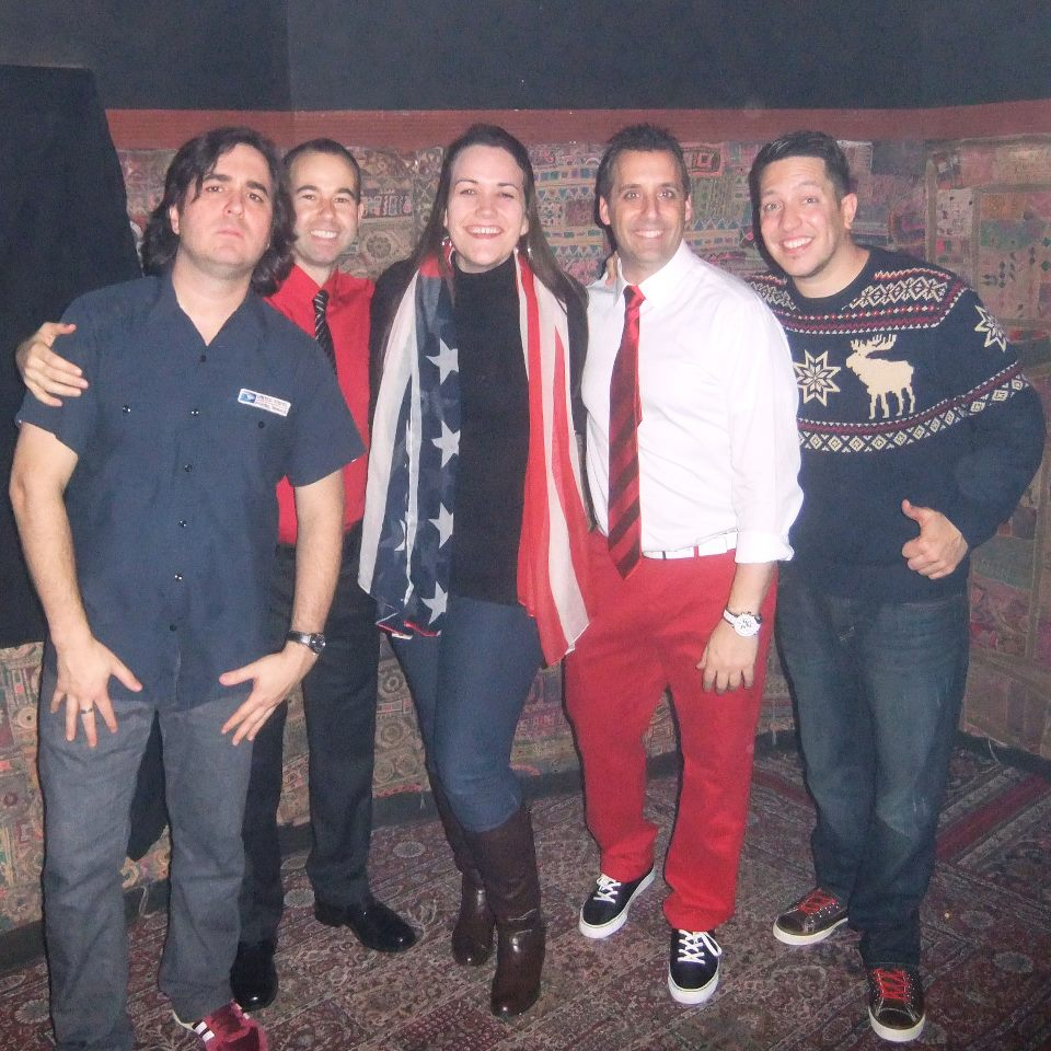 In 2012, I met The Tenderloins, who star in truTV's Impratical Jokers, for the first time. Their podcast was the first one I ever listened to regularly, so I give them credit for getting me really into the listening side of the world of podcasting.