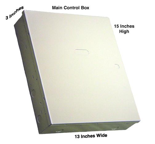 6160 Honeywell Custom Alpha Main Control Box