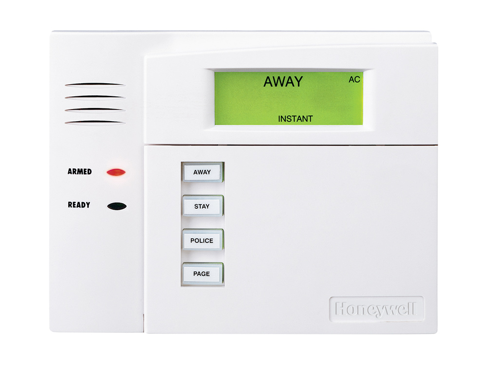 Keypad for the 6150 Honeywell Fixed English alarm system - NCA Alarms Nashville TN